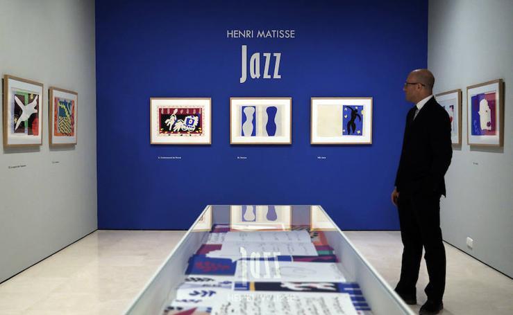 El Museo Carmen Thyssen explora una de las facetas más desconocida de Matisse en 'Jazz'