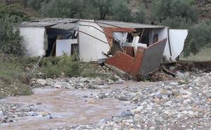 «Aquí tenía una casa, ahora sólo quedan escombros y agua»