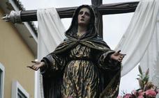 Cinco procesiones recorren las calles de Málaga este fin de semana