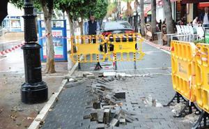 El lunes arrancan las primeras obras de urgencia en las zonas afectadas por el temporal en Marbella