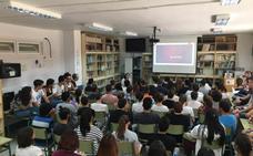 Medio millar de alumnos de Secundaria debate el papel de la mujer en el cine
