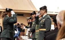 La Guardia Civil celebra en Málaga su día con un solemne acto cargado de emotivos homenajes