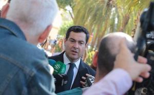 Juanma Moreno dice que la promesa de Juan Marín de no pactar con el PSOE no tiene «ninguna credibilidad»