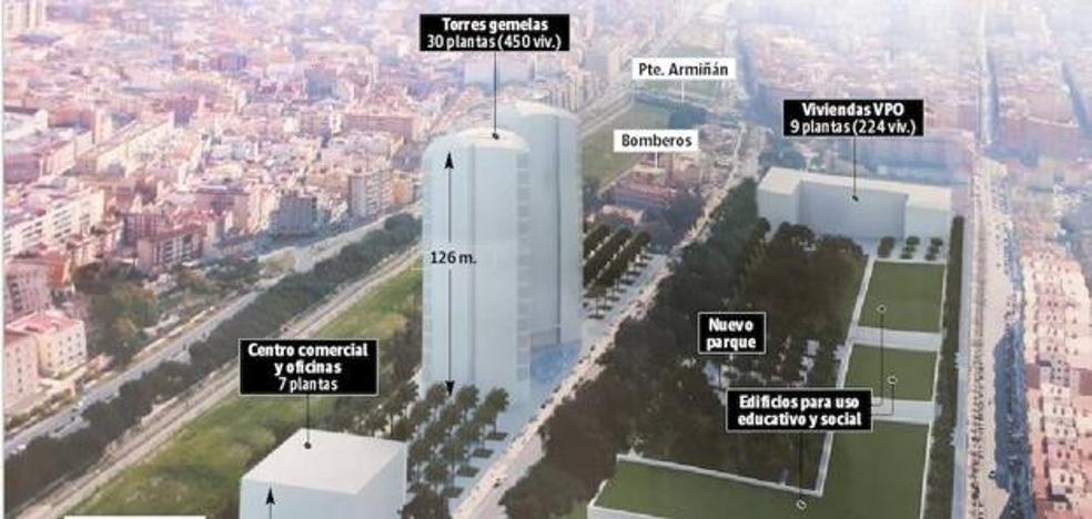 Urbanismo frena temporalmente las obras para transformar la zona de Martiricos