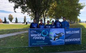 El Club Mediterráneo, tras el título en el Campeonato del Mundo de remo de mar