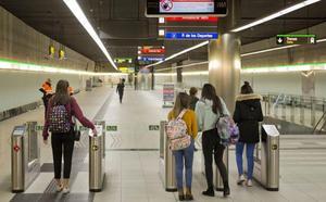 Aumenta el número de viajeros que elige el metro de Málaga: 4,4 millones hasta septiembre