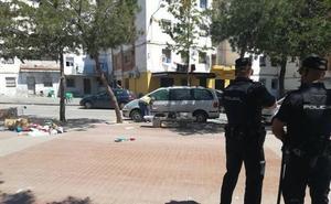 Un tiroteo en la Palmilla se salda con seis detenidos