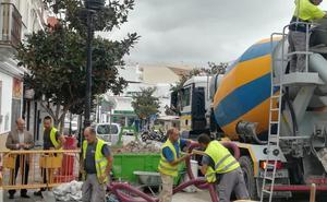 Mijas saca a concurso todos los materiales de las obras municipales