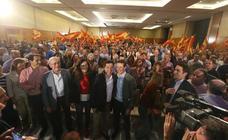 Pablo Casado respalda a Juanma Moreno en el primer gran mitin de la precampaña del PP celebrado en Málaga