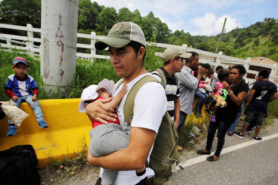 La violencia y la pobreza obligan a los hondureños a dejar su país de origen