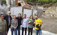 La rehabilitación de la antigua ermita de San Sebastián en Vélez se complica