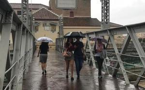 Meteorología prevé lluvias para la noche del lunes tras la escasa incidencia de Leslie en Málaga