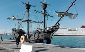 La Nao Victoria permanecerá atracada en el puerto de Málaga