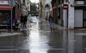 El alcantarillado de Málaga no está aún preparado para fuertes lluvias
