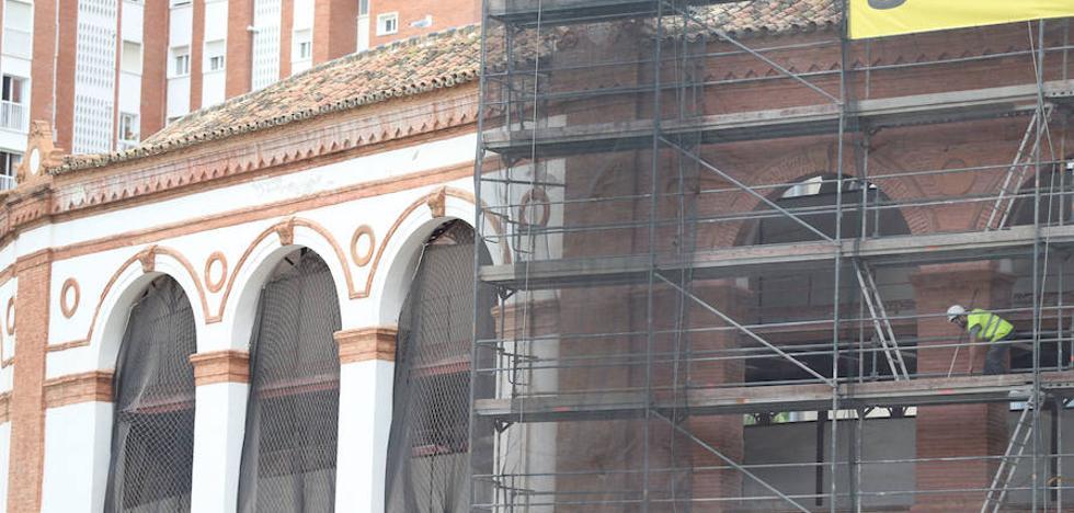 La plaza de La Malagueta recuperará su fachada original de ladrillo del siglo XIX