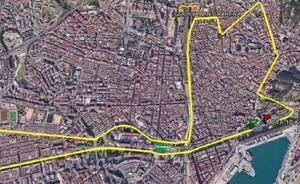 La Carrera Urbana Ciudad de Málaga mantendrá finalmente su recorrido