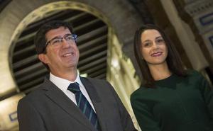 PP y Cs admiten una futura alianza para echar al PSOE de la Junta si suman mayoría