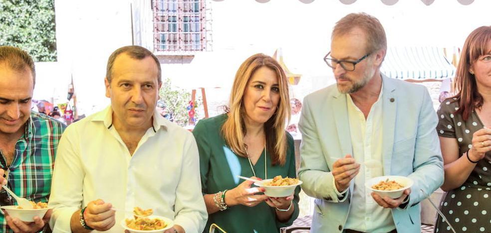 Susana Díaz avala a Ruiz Espejo como cabeza de lista del PSOE por Málaga