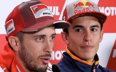 Dovizioso busca retrasar el título de Márquez en casa de Honda
