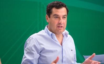 Juanma Moreno no comparte las palabras de Tejerina y asegura que los «niños y profesores andaluces son de diez»
