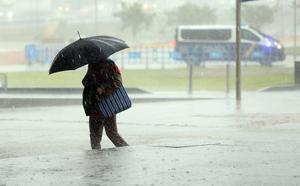 El Ayuntamiento de Málaga activa el plan de emergencia de forma parcial ante las fuertes lluvias