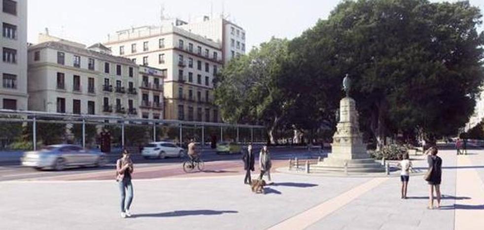 Urbanismo prevé iniciar la semana que viene la obra del lateral sur de la Alameda