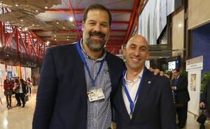 Luis Rubiales, ponente de lujo en el Palacio de Ferias y Congresos de Málaga
