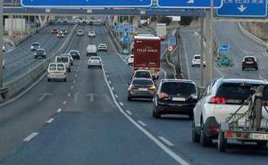 Tráfico multa a 247 personas en una semana por no llevar puesto el cinturón