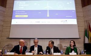 Una empresa malagueña desarrolla una plataforma flotante para producir electricidad pionera en Europa