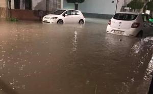 Campillos y Teba sufren graves inundaciones mientras se activa el aviso rojo en el norte de la provincia de Málaga