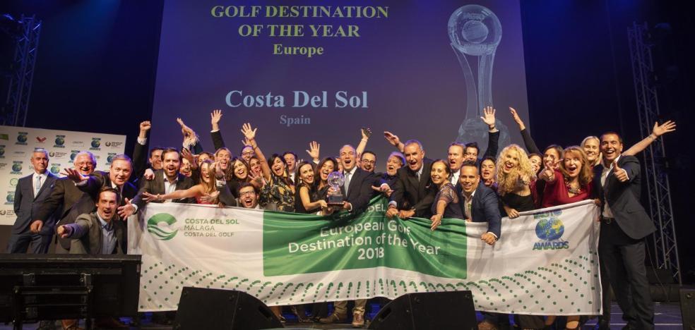 La Costa del Sol, elegida mejor destino europeo de turismo de golf