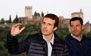 Pablo Casado asegura que el PP librará a la Junta de «los lastres socialistas»