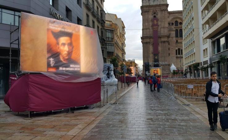 La beatificación del padre Tiburcio Arnaiz en Málaga