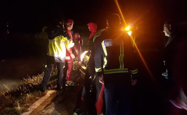 Hallan muerto al bombero desaparecido durante las lluvias en Campillos, Málaga