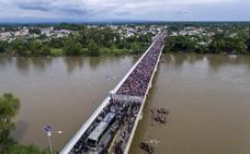 La marcha migratoria fuerza a moverse a los gobiernos