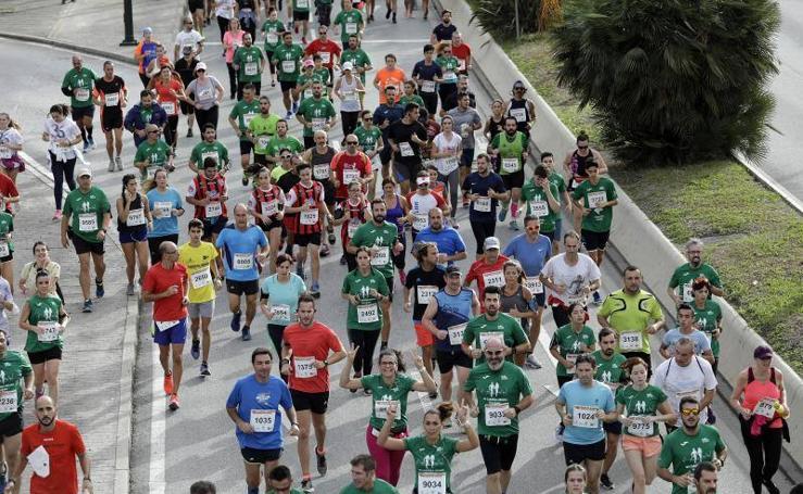 Fotos de la Carrera Urbana Ciudad de Málaga 2018