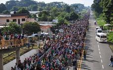México trata de ordenar la entrada de los hondureños