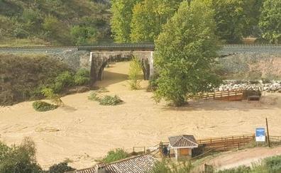 Todos los vídeos de los efectos de las últimas lluvias en el interior de Málaga