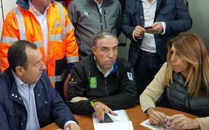 Felipe VI llama a Susana Díaz y a Bendodo para mostrar su apoyo a Málaga y dar el pésame por el bombero fallecido