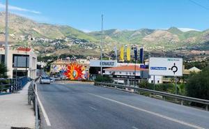 Fuengirola plantea reformar el viaducto sobre la A-7