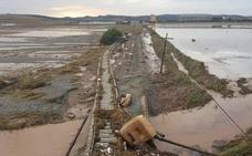 ADIF trabaja en la rehabilitación de las tres líneas de tren en Málaga afectadas por las lluvias