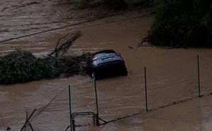 Alpandeire bate el récord histórico de precipitaciones en España