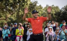 Sergio García se corona por tercera vez en Valderrama
