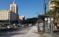 La obra de la Alameda obliga a suprimir las paradas de autobús del lateral norte