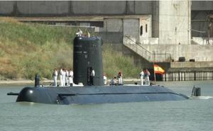 El submarino 'Mistral' de la Armada Española podrá visitarse en el Puerto de Málaga