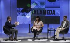 Teresa Rodríguez y Antonio Maíllo, en 'La Alameda'