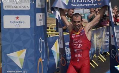 Rubén Ruzafa busca este domingo en Hawái entrar en la historia del triatlón cross