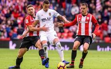 Athletic y Valencia siguen bajo el síndrome del empate