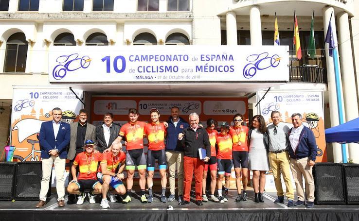 Éxito del Campeonato de España de Ciclismo para Médicos