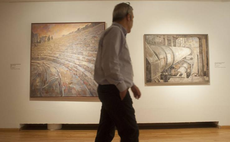 Exposición '18x2 Coleccionismo institucional en Málaga'